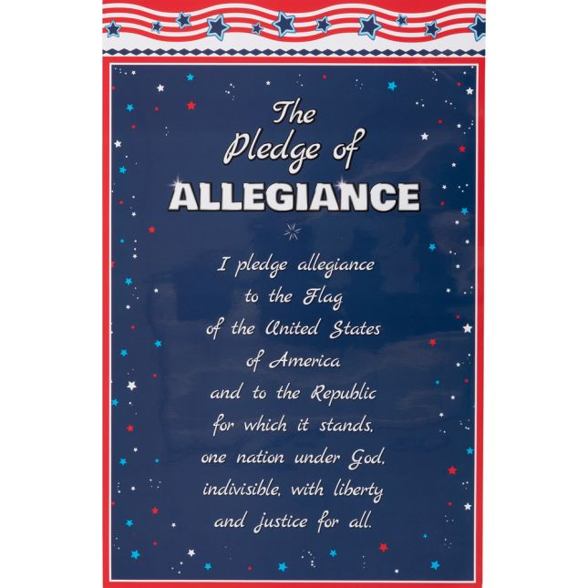 Star-Spangled Teacher Poster - 1 poster