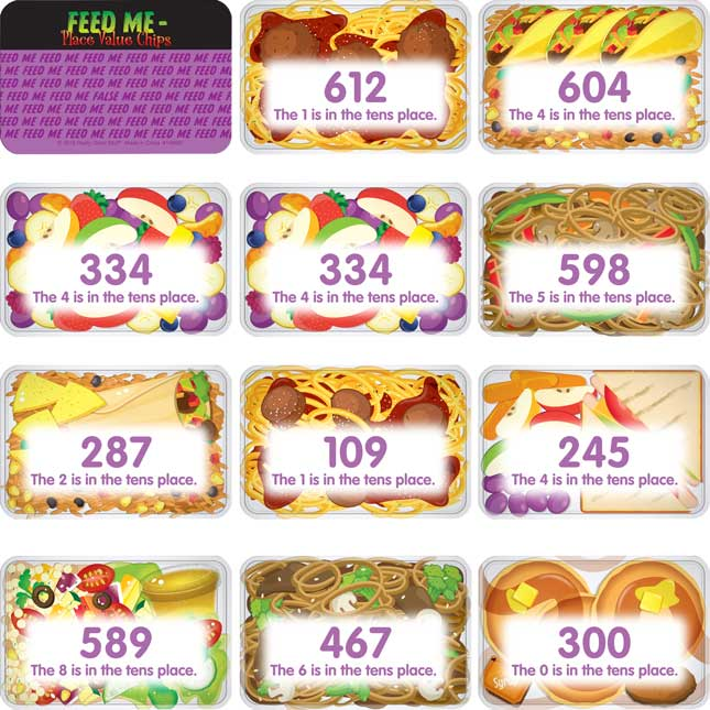 Feed Me – Place Value Chips - 100 chips_4
