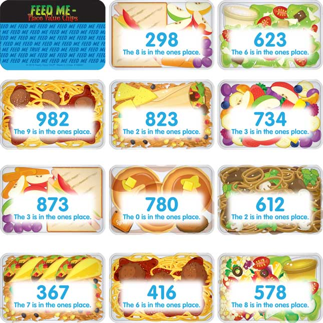 Feed Me – Place Value Chips - 100 chips_5