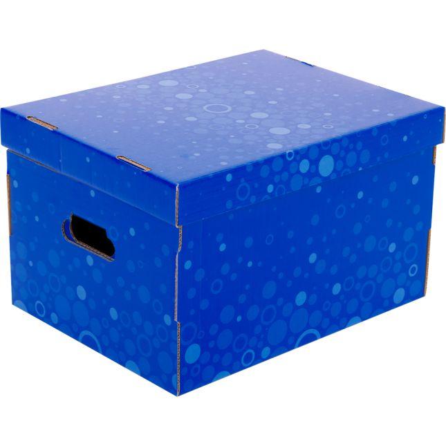 Corrugated Storage Box – Fizz! - 1 box