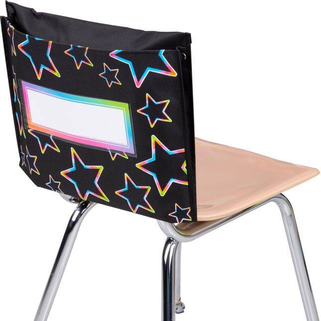 Neon Pop Store More® Deep-Pocket Chair Pockets – 6 Pack
