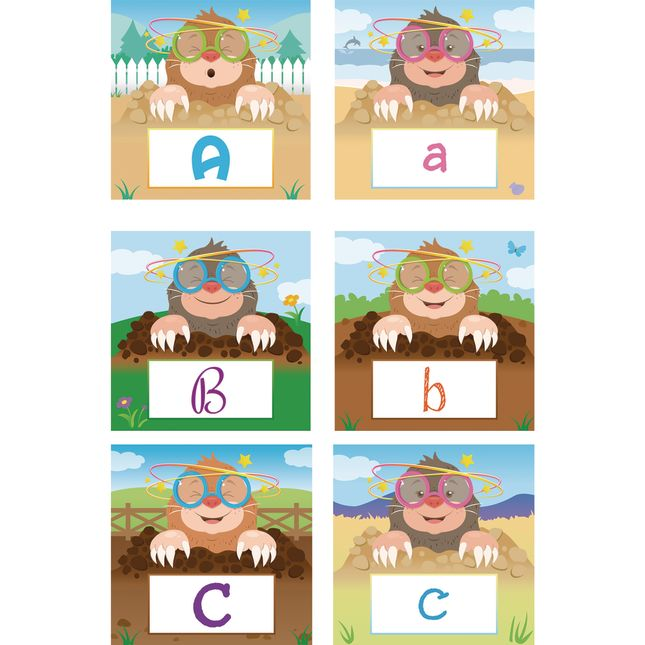Whack-A-Letter Game - Visual, Tactile and Auditory Learning for Fluency in Letter Recognition - Pre-K, Kindergarten, 1st Grade
