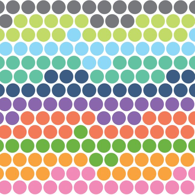 Color-Coded Stickers - 120 stickers