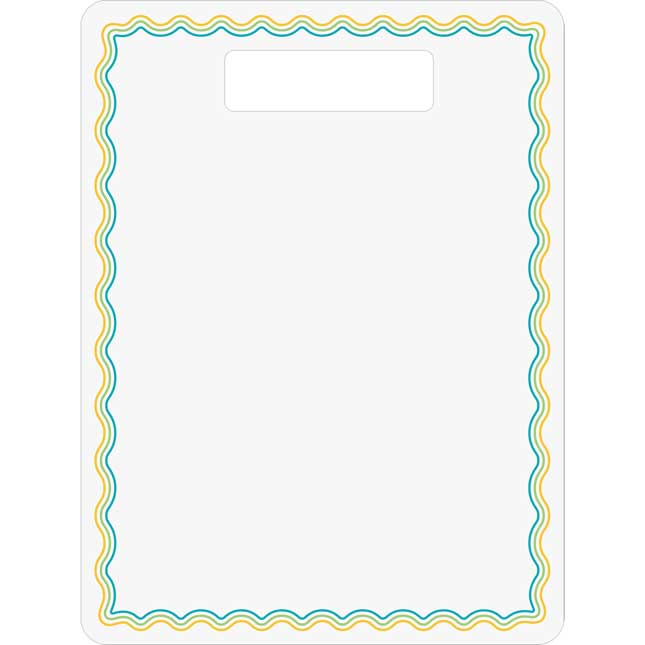 Dry Erase Boards With Handle – Set Of 6_1
