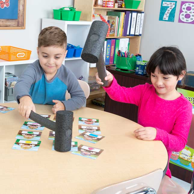 Whack-A-Color Game - Visual, Tactile and Auditory Learning for Fluency in Color Recognition - Pre-K, Kindergarten, 1st Grade - 1 game_8