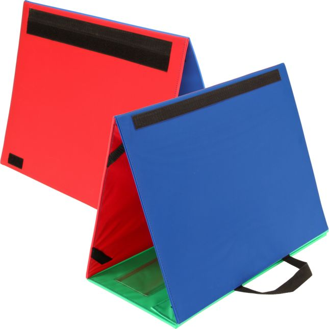 4-Column Desktop Pocket Chart™ - 1 stand, 1 pocket chart, 1 board