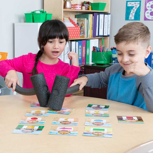 Whack-A-Shape Game - Visual, Tactile and Auditory Learning for Shape Identification - Pre-K, Kindergarten, 1st Grade