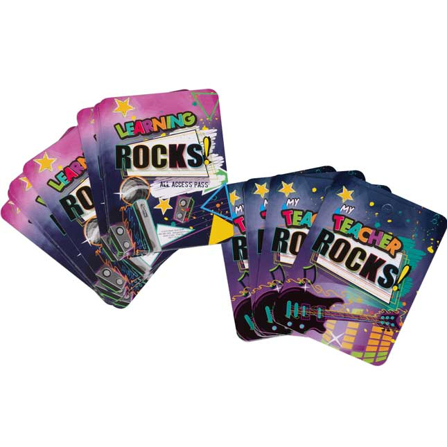 Rock Your School Backstage Passes - 36 backstage passes