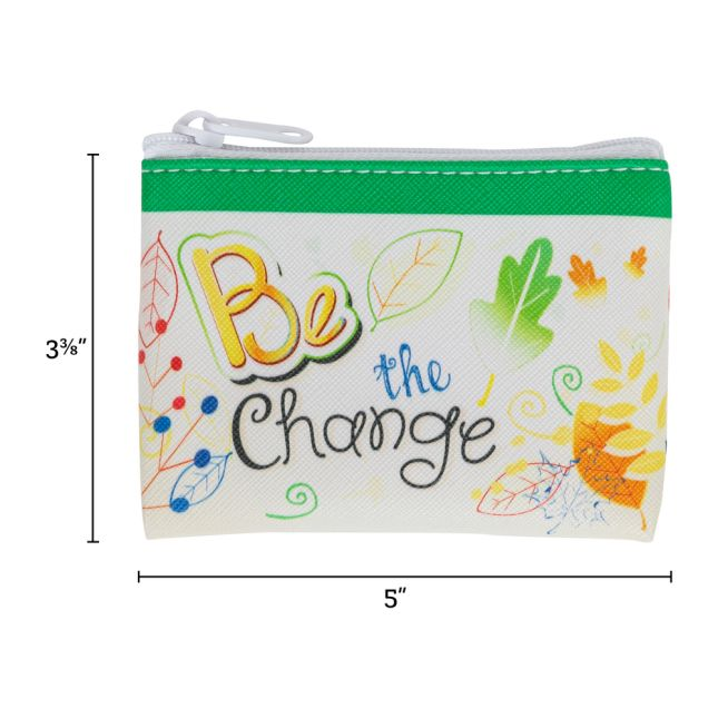 BeLeaf In Yourself Coin Pouch - 1 coin purse_1