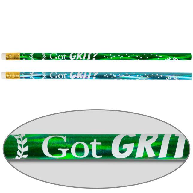 Got GRIT? Pencils  12 Pack