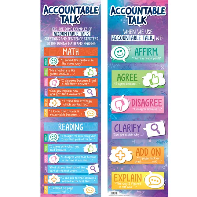 Accountable Talk Sticks And Banner Kit