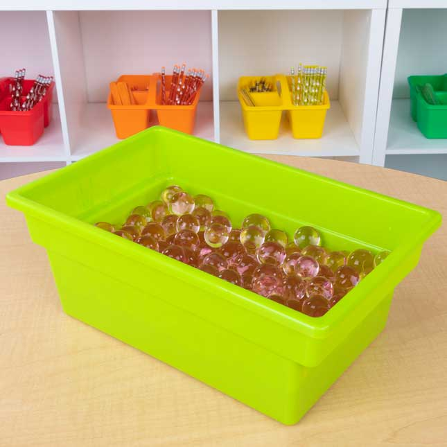 All-Purpose Bins – Set Of 12 – 4 Colors Neon Pop