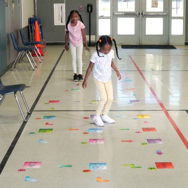 EZ Stick Sensory Path  Get Moving