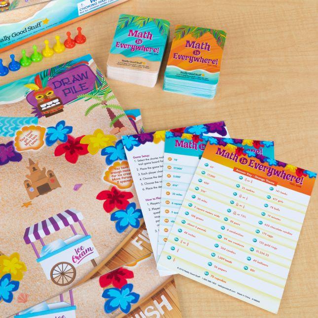 Math Is Everywhere! Trail Game  Intermediate - 1 game