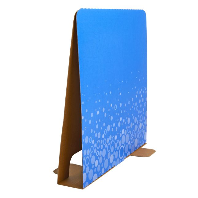 Really Good Stuff® Tall Privacy Dividers – Blue Fizz! – Set Of 12