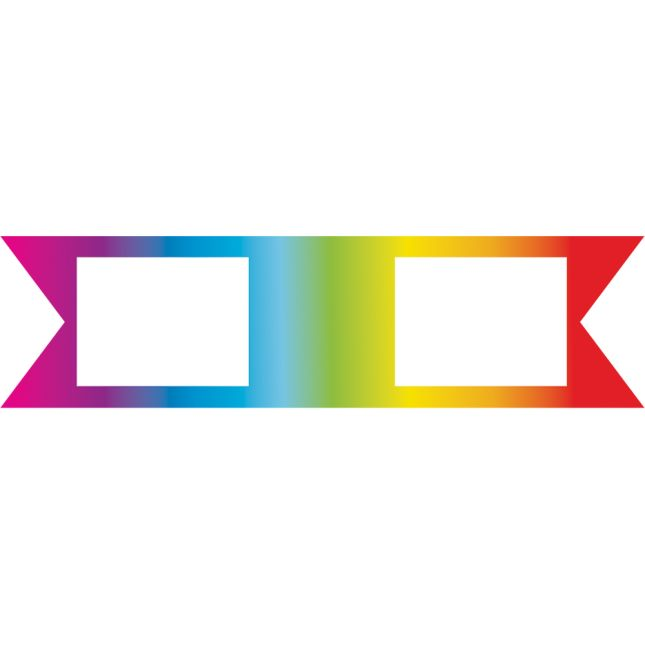 Star Bright Pencils And Rainbow Sticker Flags - 24 pencils and stickers