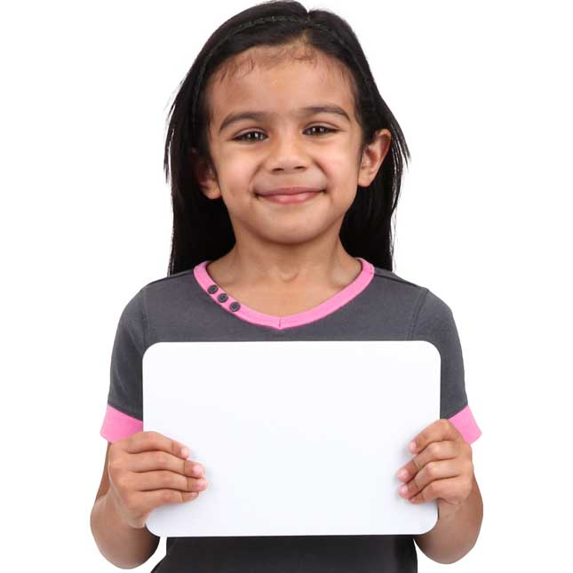 """9"""" X 6"""" Mini-Magnetic Dry Erase Boards – Set Of 12 Boards & 12 Markers"""