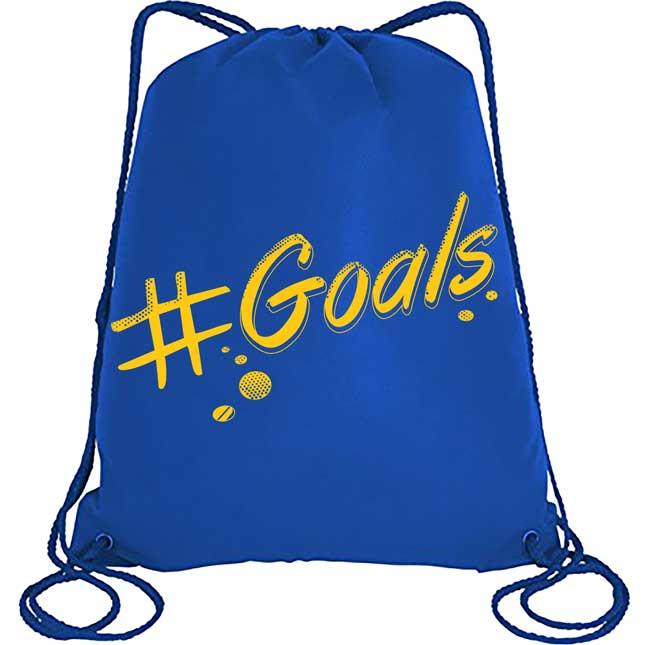 Goals! Drawstring Bag - 1 bag_0