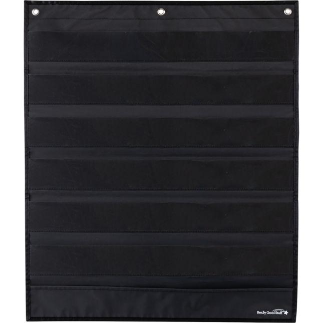 Classroom Helpers Pocket Chart & Cards - Black