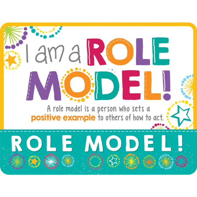 Be A Role Model Kit  Student Set Of 24