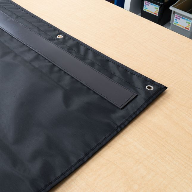 Programmable Pocket Chart & Cards  Waves  Large Black - Black
