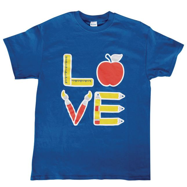 Love of Teaching T-Shirt - 1 t-shirt