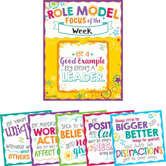 Be A Role Model 6-in-1 Poster Set_0