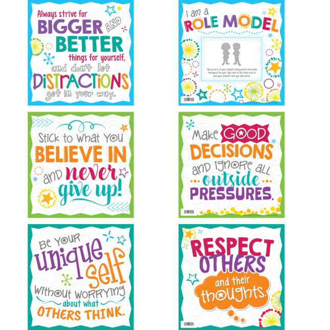 Be A Role Model 6-in-1 Poster Set_2