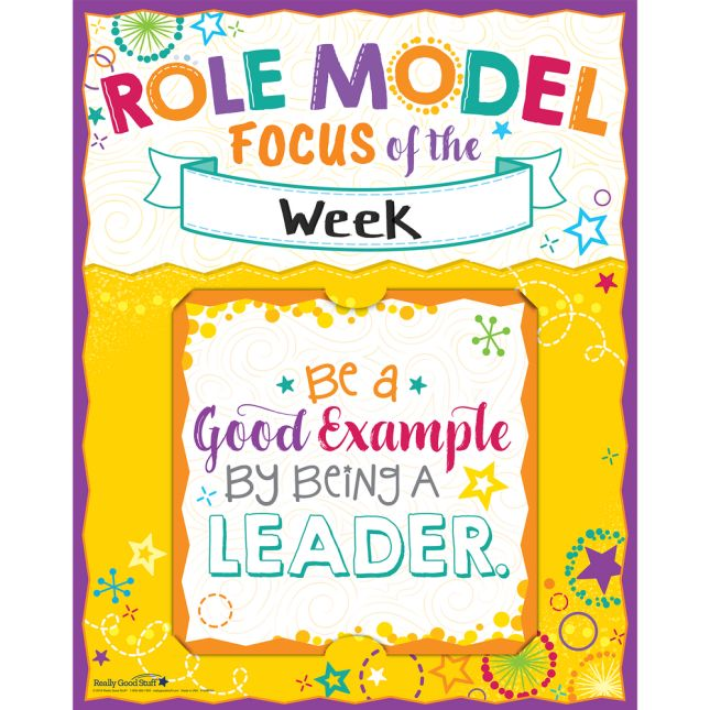 Be A Role Model 6-in-1 Poster Set_4