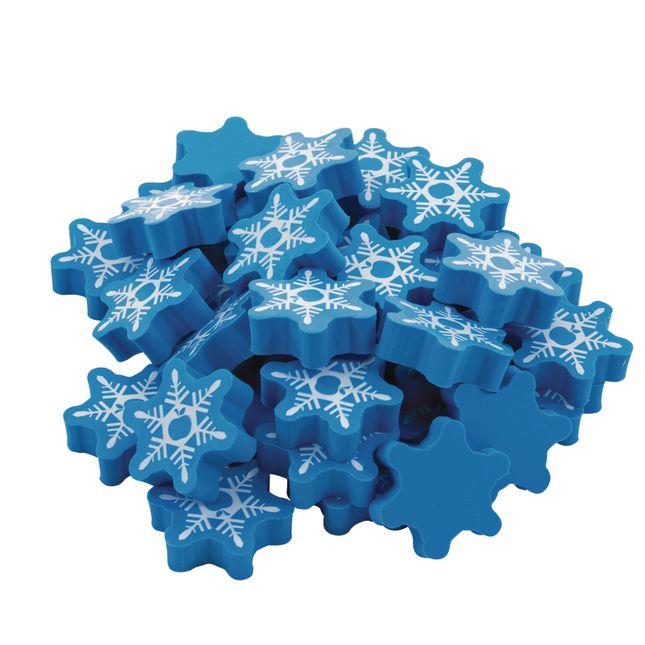 SNOW Erasers - 36 erasers
