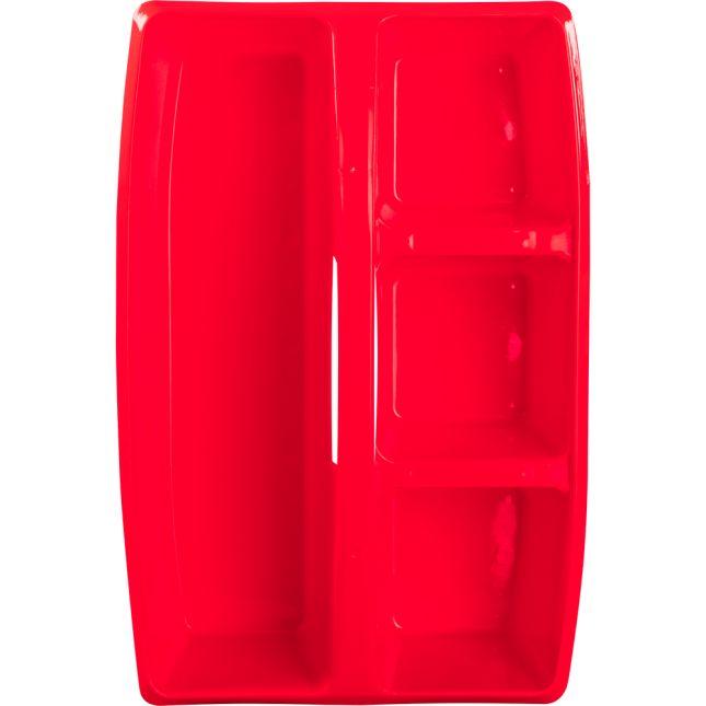 Multi-Use Storage Caddies  6 Colors  Set Of 6