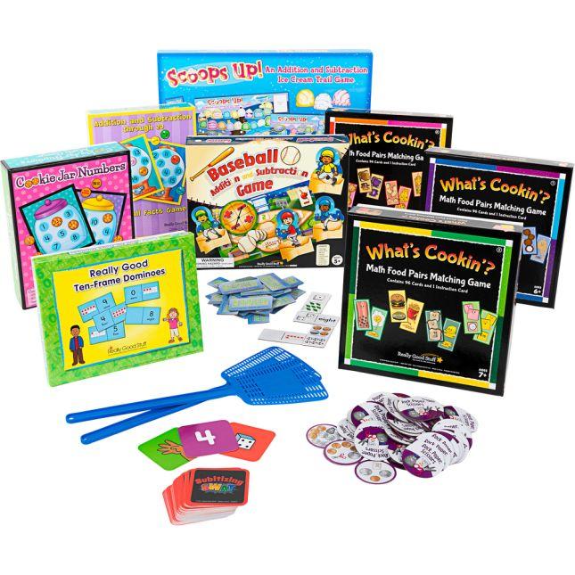Math Game Bundle - Primary