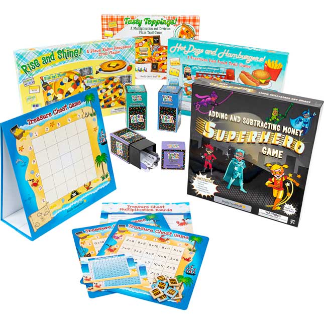 Math Game Bundle - Intermediate
