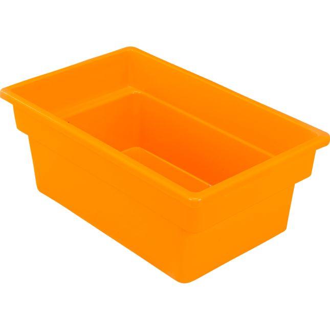 Small All Purpose Bin Single   Orange