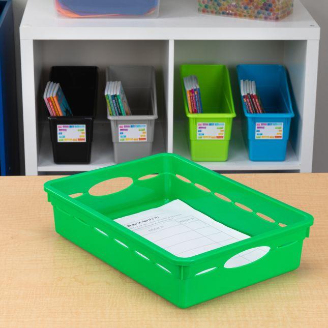 Paper Basket Organizer - Single Color - 1 basket_1
