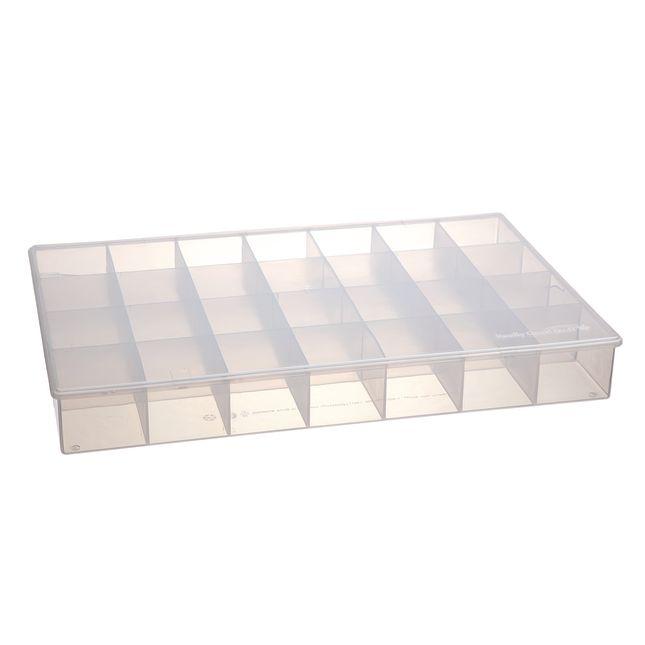 28 Compartment Plastic Storage Case