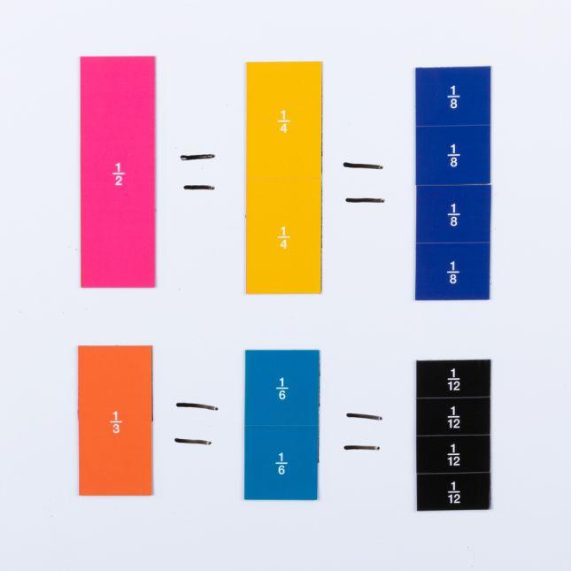 Fraction Magnets Set