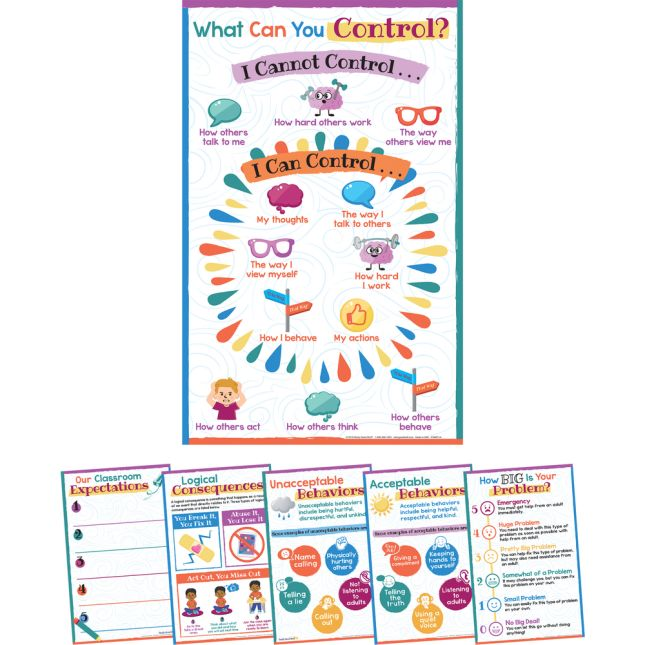 Classroom Expectations And Behaviors Poster Set