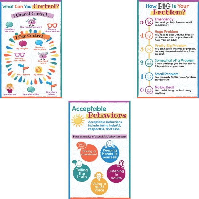 Classroom Expectations And Behaviors Poster Set_2