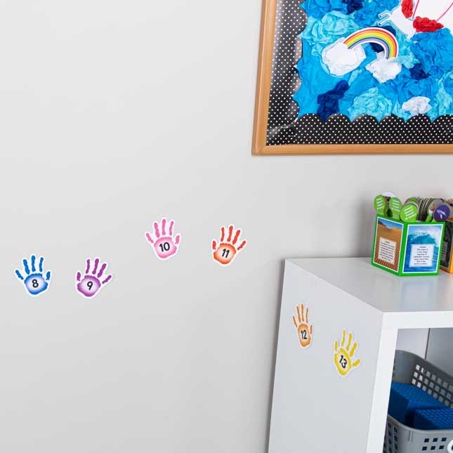 EZ Stick High-Five Letters, Numbers, Shapes, And Colors - 108 decals