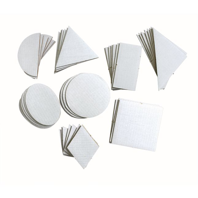 Geometric Collage Board Shapes – Set Of 56