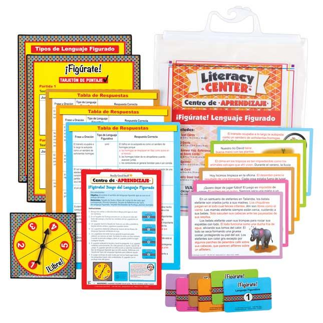 Centro de Aprendizaje: Figrate! Lenguaje Figurado