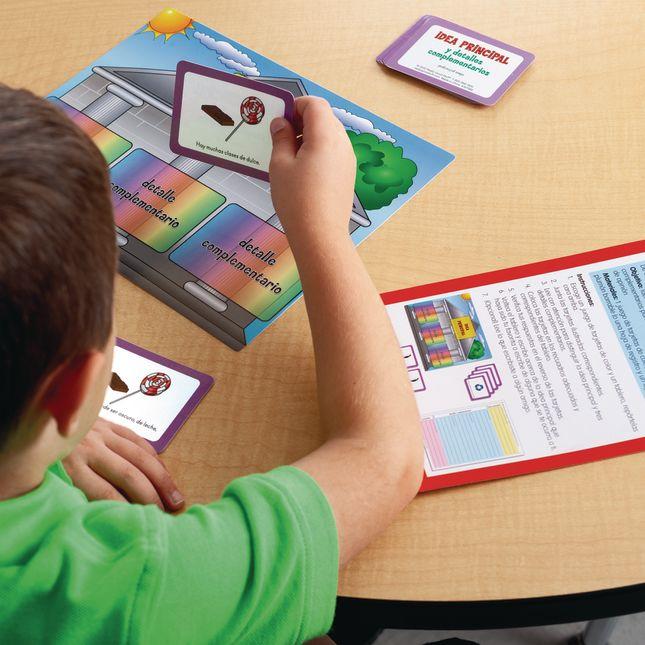 Centro de Aprendizaje: Marca la Idea Principal, Nivel 2 (Main Idea Markup Level 2 Literacy)