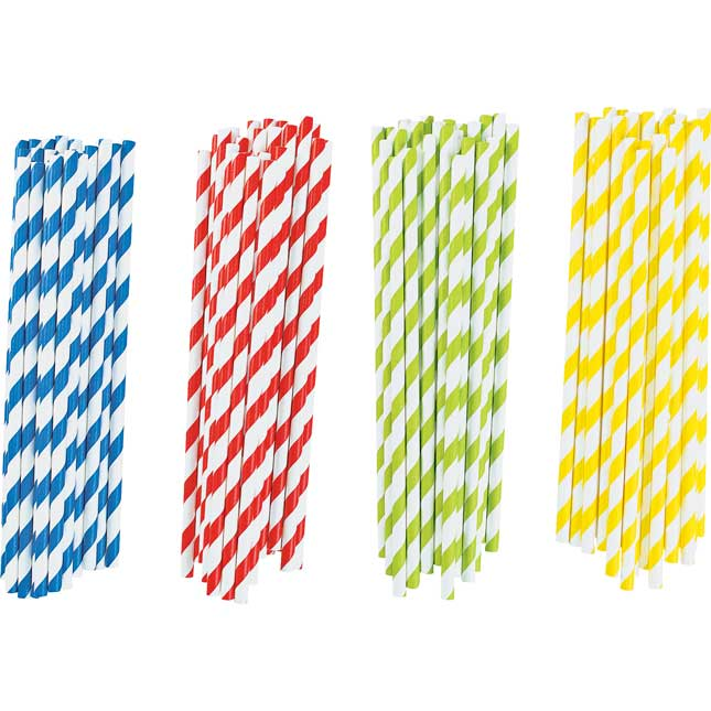 Colorations® Paper Art Straws – Set Of 100