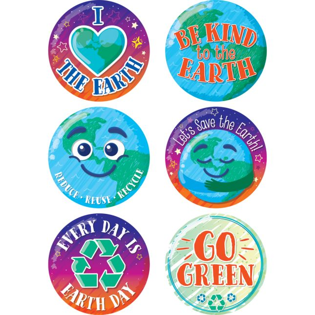 Be Kind to the Earth Jumbo Stickers