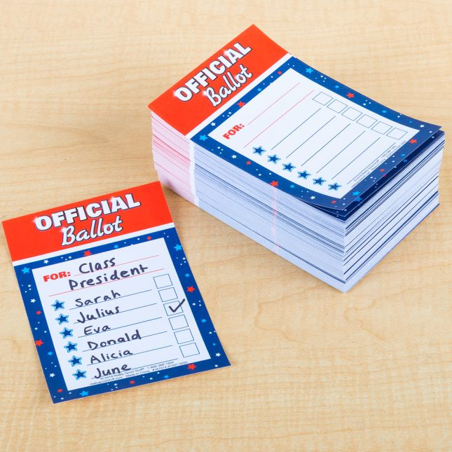 Let's Vote Ballots - 500 ballots