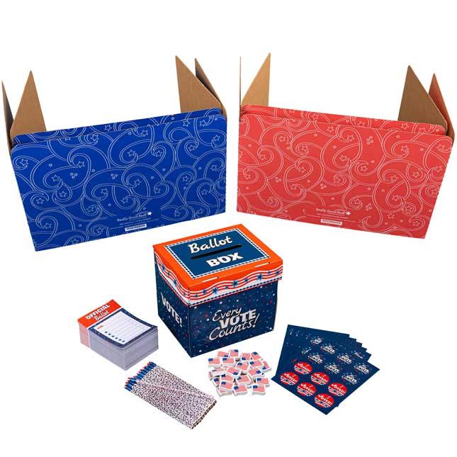 Let's Vote Deluxe Kit - 1 multi-item kit