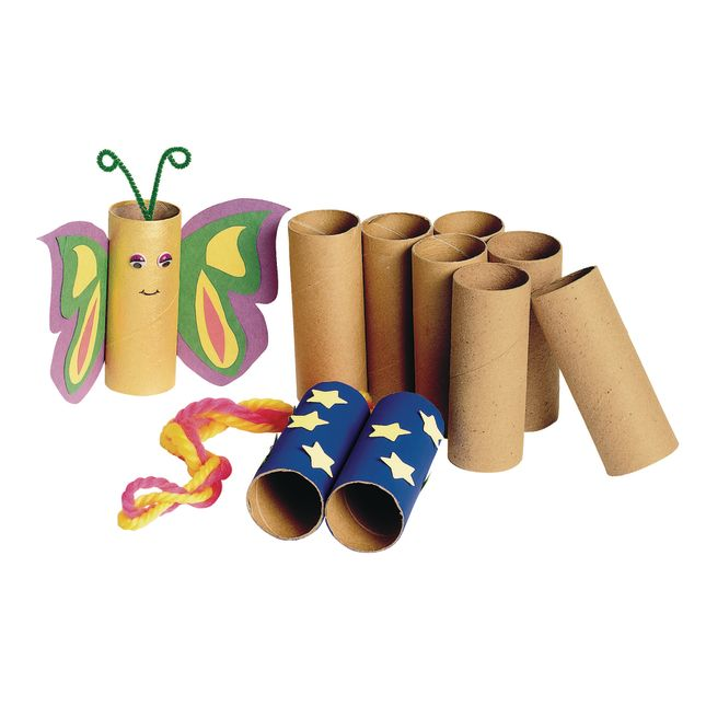 Colorations® Sturdy Recycled Craft Rolls – Set Of 24