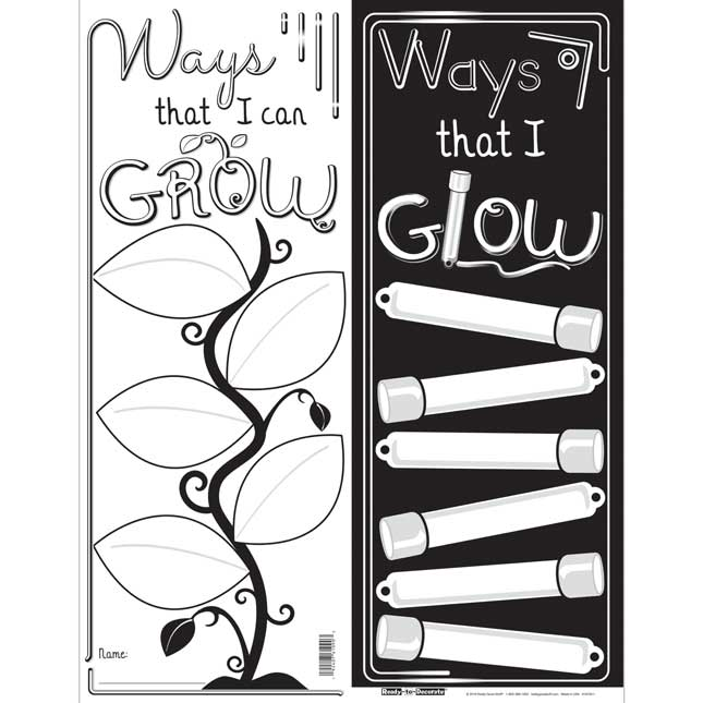 Ready-To-Decorate GROW And GLOW Posters - 24 posters_1