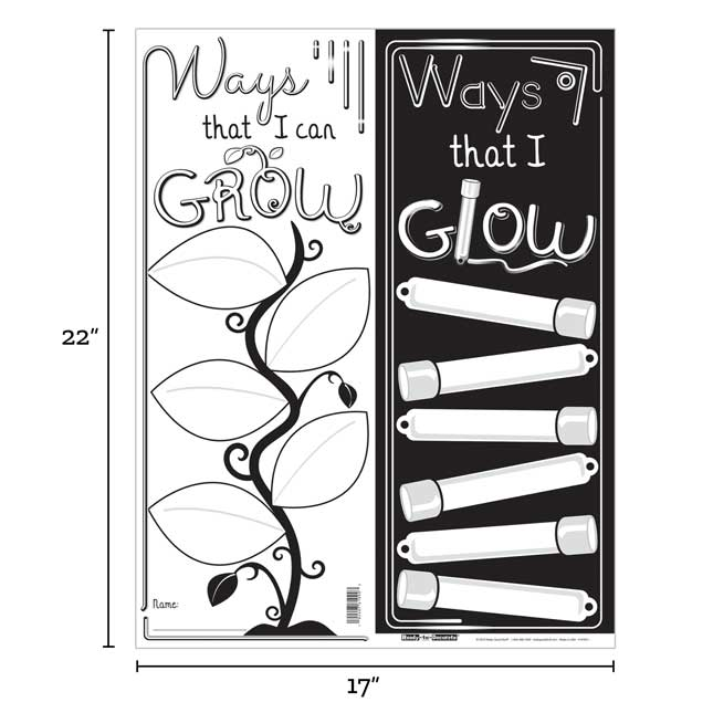 Ready-To-Decorate GROW And GLOW Posters - 24 posters_3